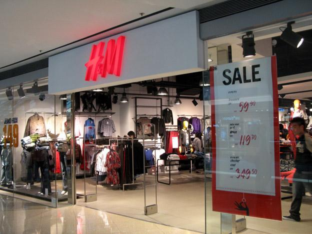 H&M clothing brand in Bangladesh