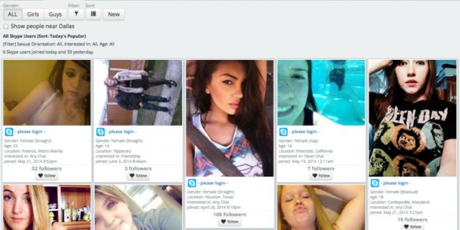 Girls Skype usernames online now