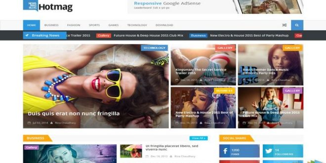 List of 2016 SEO Magazine Template for Blogger