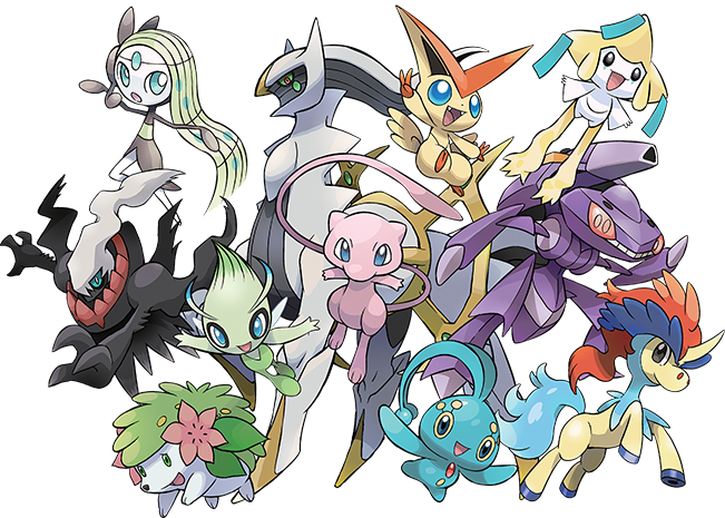 List of all legendary Pokemon 2016