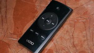 List of vizio sound bar remote