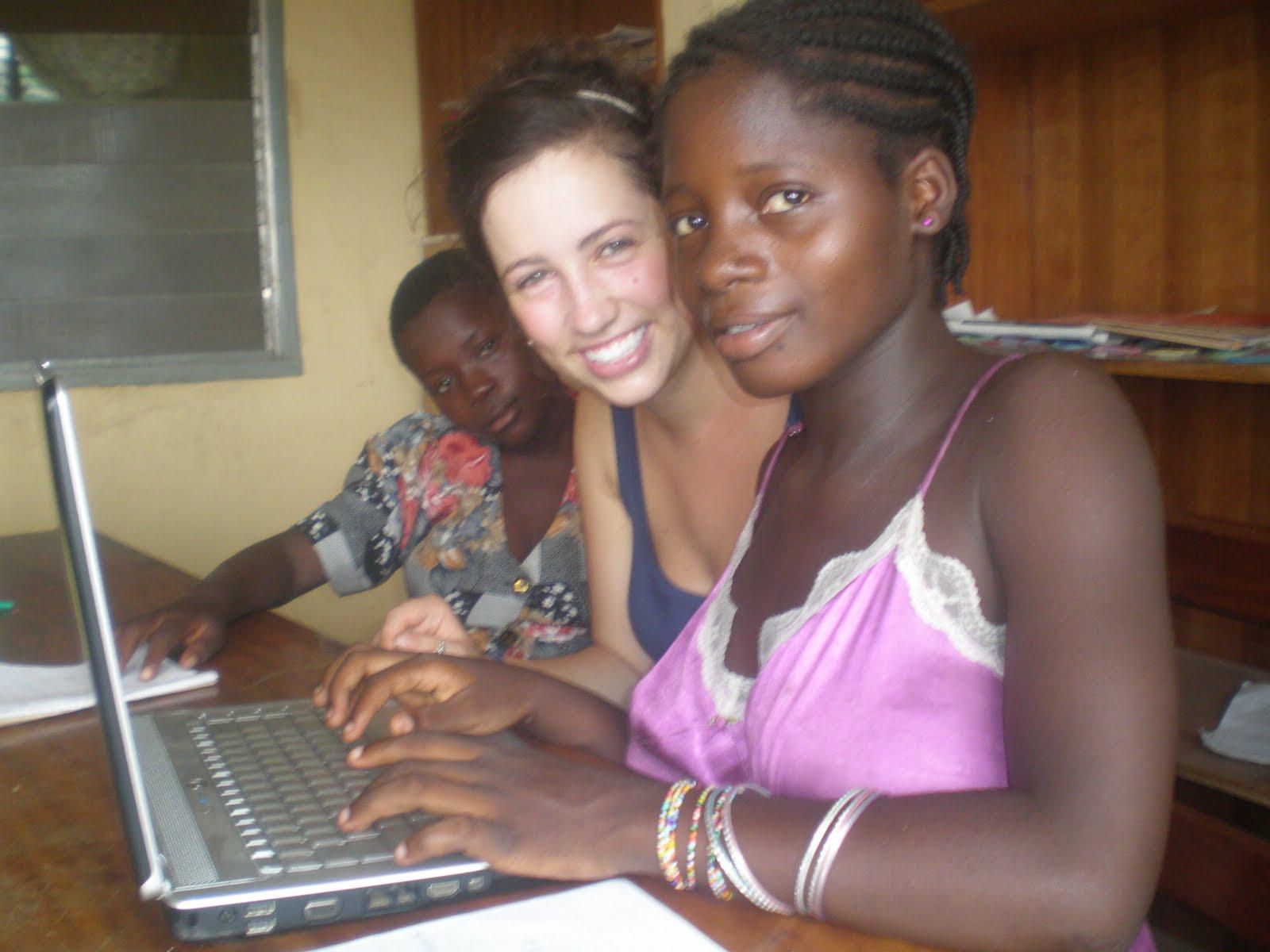 Skype women on from ghana Ghanaian Women
