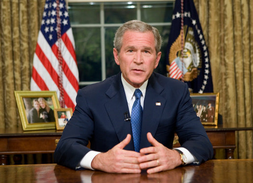 George W.Bush President of US
