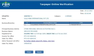 Find NTN Verification with CNIC