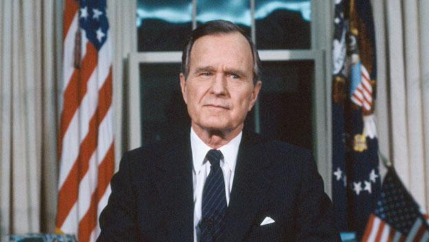George H. W.Bush President of US