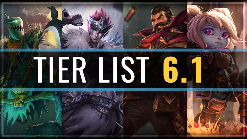 League of Legends Tier List