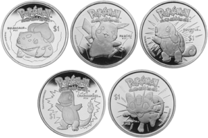 List of Niue Pokemon coin