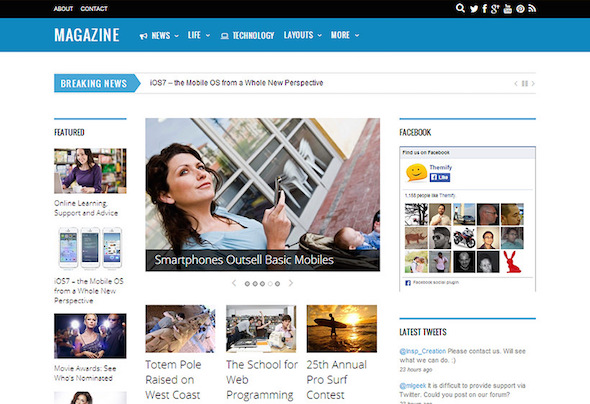 List of WordPress SEO Responsive Themes 2016