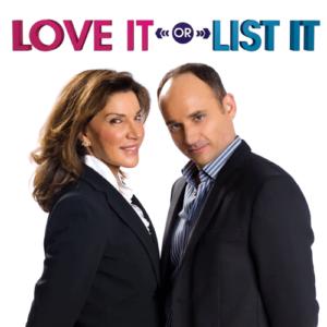 Where is love it or list it filmed