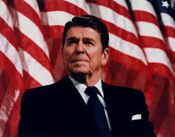 Ronald Wilson Reagan President of US