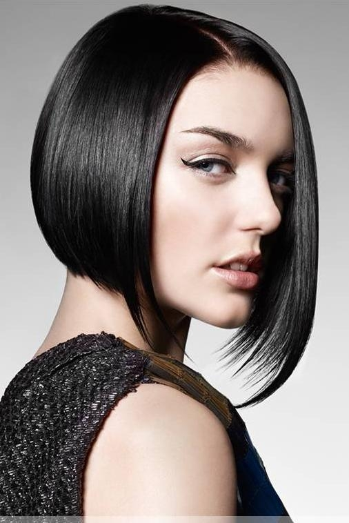 Asymmetric hair cutting