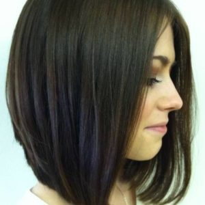 Inverted Long Bob Haircut