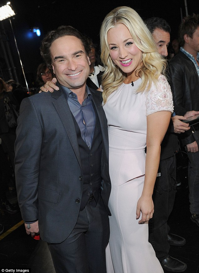 Johnny Galecki Girlfriend