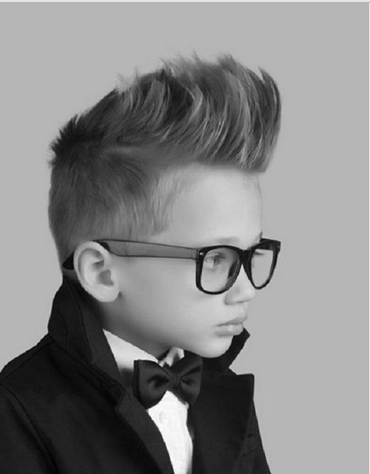 Little Johnny Bravo Kids Hair Cutting