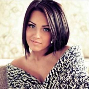 Short and Simple Bob Cut