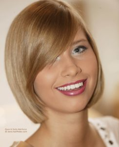 Clean Bob Haircut