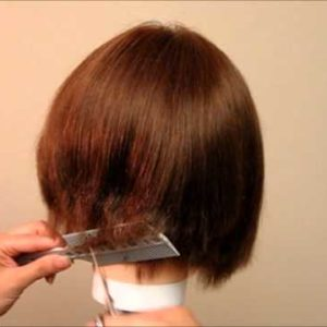 Scissors and clipper over comb Hair Cutting