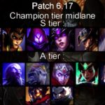 What is Lol Tier List 6.17
