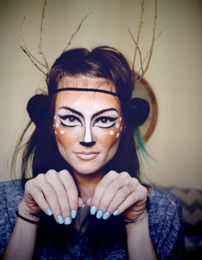 Halloween Girls Beautiful face painting