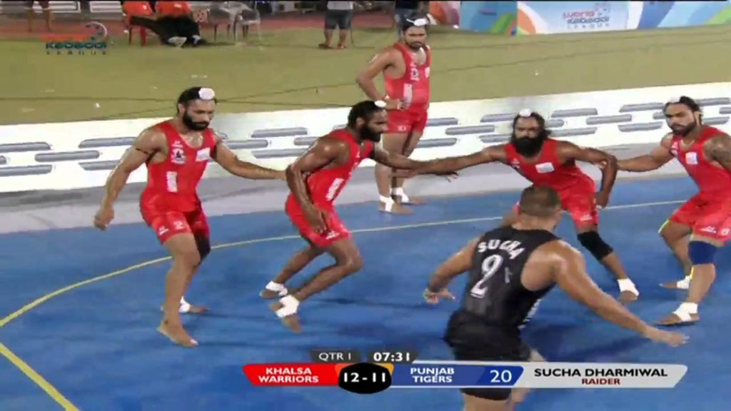 California Eagles Vs Khalsa Warriors - 14 October 2016