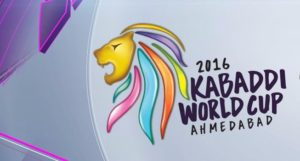 Kabaddi World Cup 2016 Schedule , Points Table , Standing