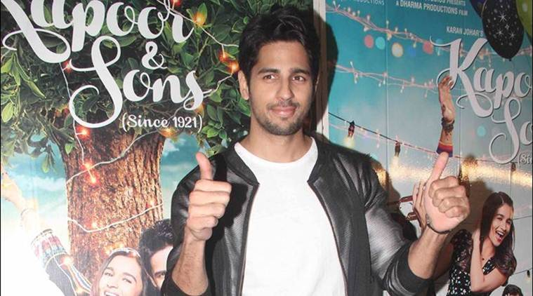 List of upcoming movies of Sidharth Malhotra 2017