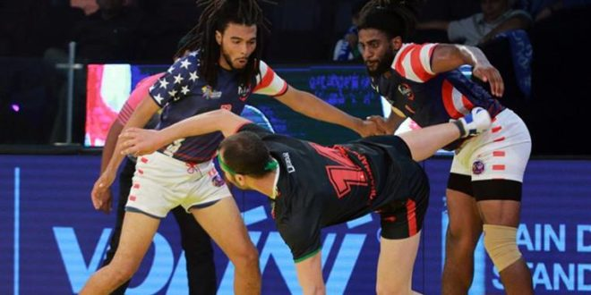 United State vs Poland - Kabaddi World Cup 2016 14 October