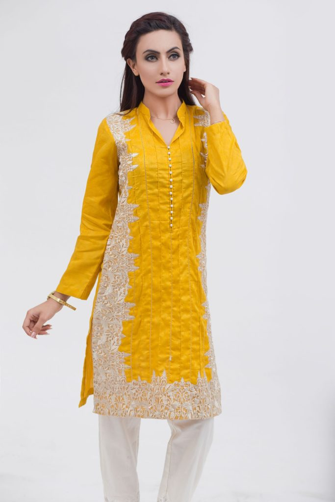 List of Female Kurta Designs in Pakistan 2017