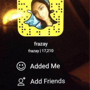 List of Pakistani Girls Snapchat username