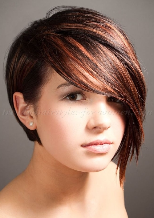 Hair Cutting name for round Face
