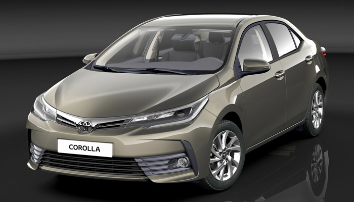 New Model Toyota Corolla 2017 in Pakistan