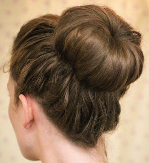 Ballerina Bun hair style