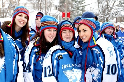 List of beautiful girls in Finland