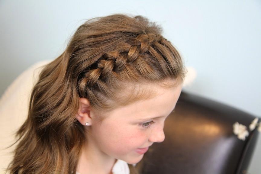 Braided Headband for girls new style