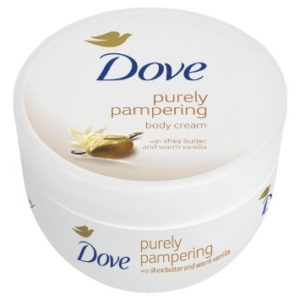 Dove Cream Oil Shea Butter Body Lotion