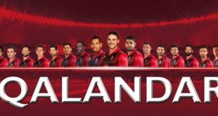 List of Lahore Qalandar Players in PSL 2017