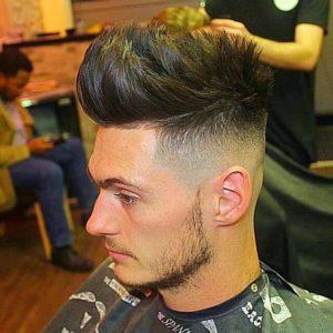Long Spiky hair cutting