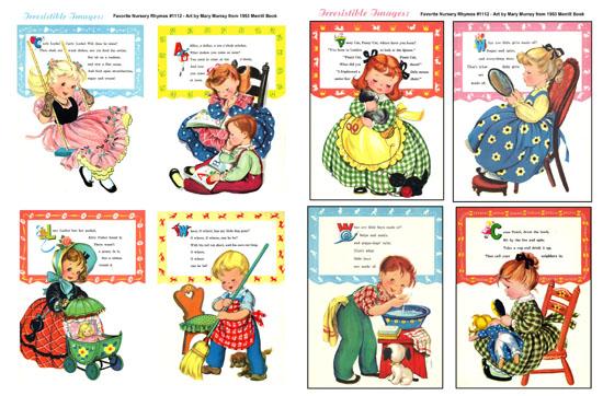 List of Nursery Rhymes for Kids