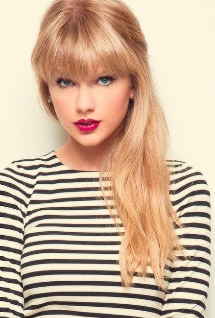 Taylor Swift's Long Hair cut