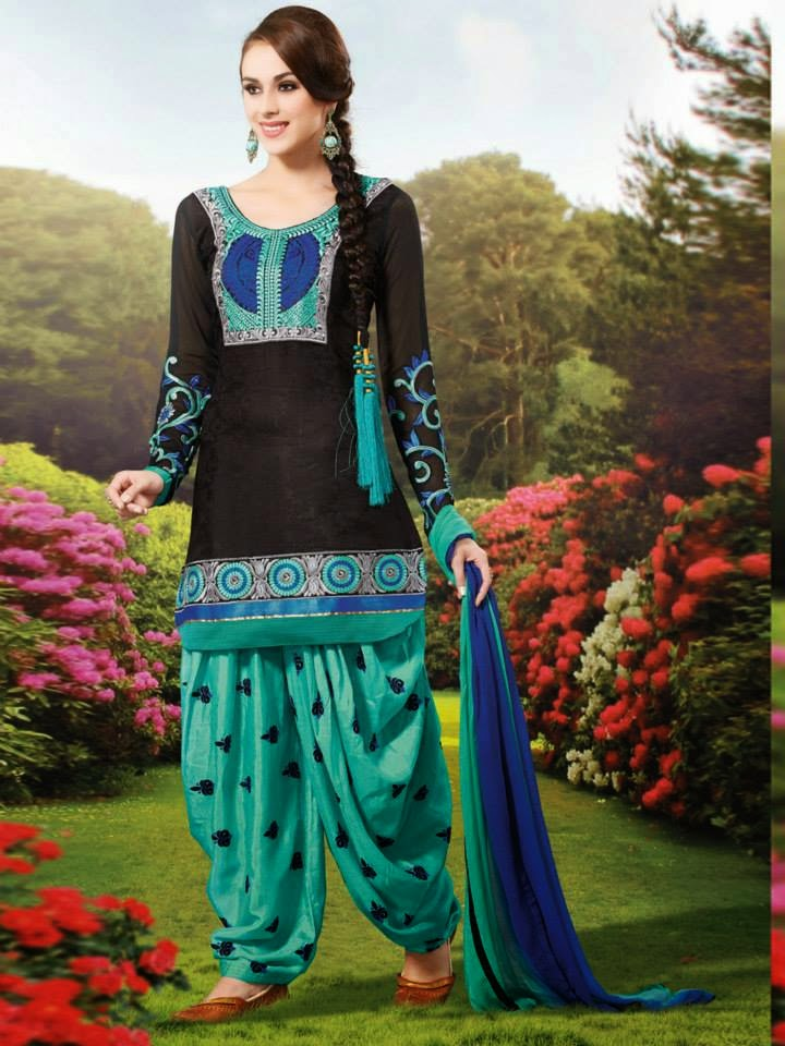 List of Indian Punjabi Girls Salwar Kameez collection 2017