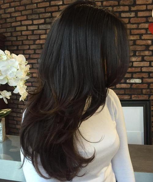 Layer Hair Cutting