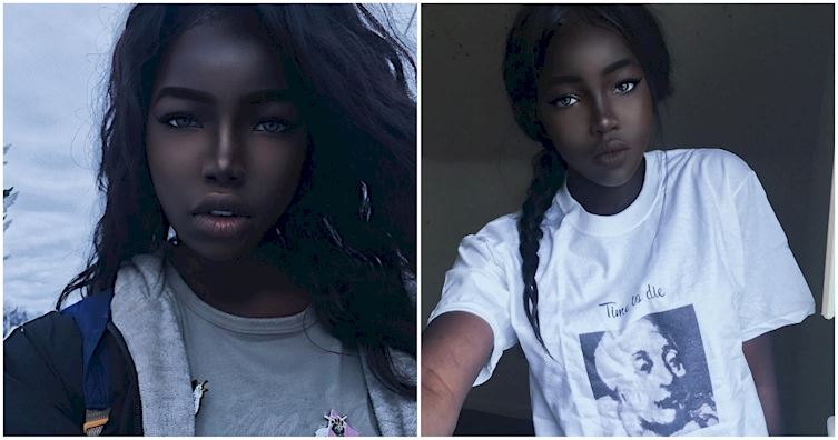 Black Model real pictures