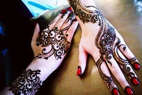Latest Eid Mehndi designs for hands 2017