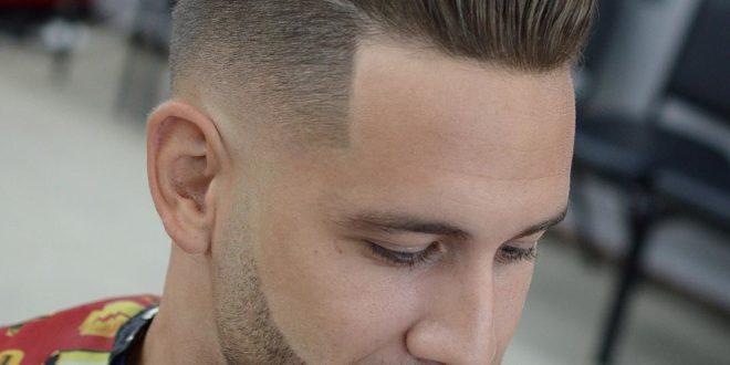 Undercut hair cutting