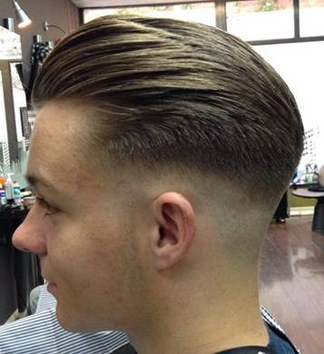 Low Fade hair cutting