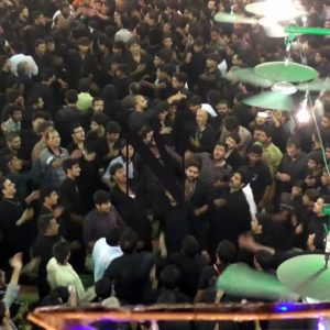 9 Muharram Lahore Jaloos video 2017