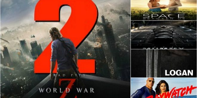 List of Hollywood movies in Thai dubbed in 2017