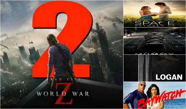 List of Hollywood movies in Burmese Dubbed 2017