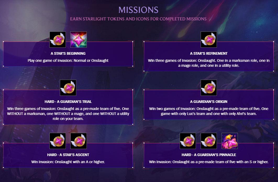 LoL-Invasion-Missions-List