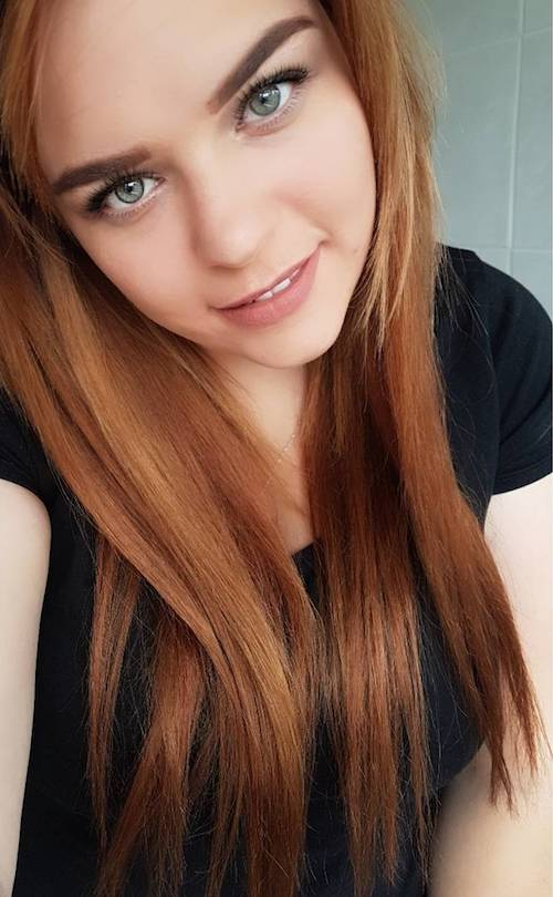 ginger hair color for long hair